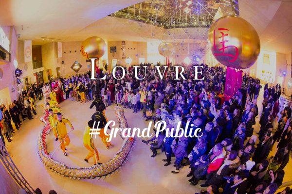 Louvre, Nouvel An Chinois par Moon Event