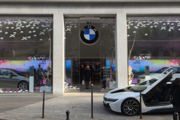 brand store BMW georges V
