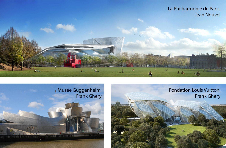 Architectures du mouvement deconstructiviste