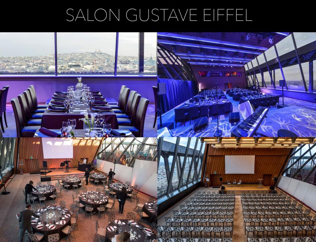 Salon Gustave Eiffel, salle à privatiser sur Paris