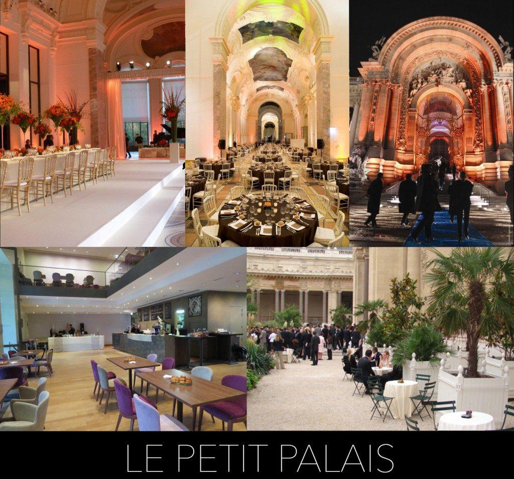 Location d'espaces Le Petit Palais