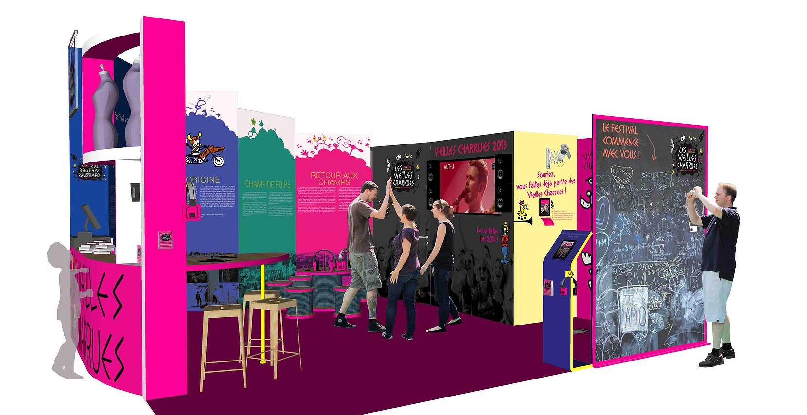 creation de stand exposition et salon