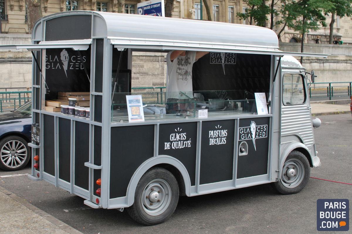 food truck de glaces