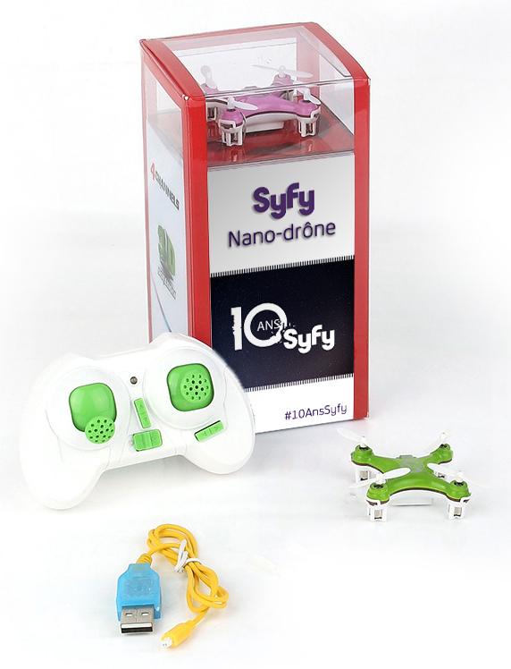 nano-drône personnalisé