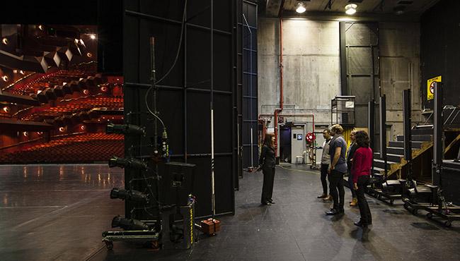 backstage tour web page