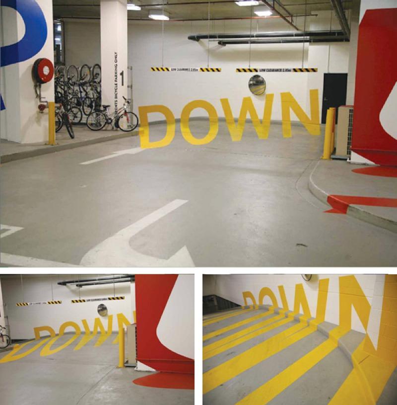 Down signalétique
