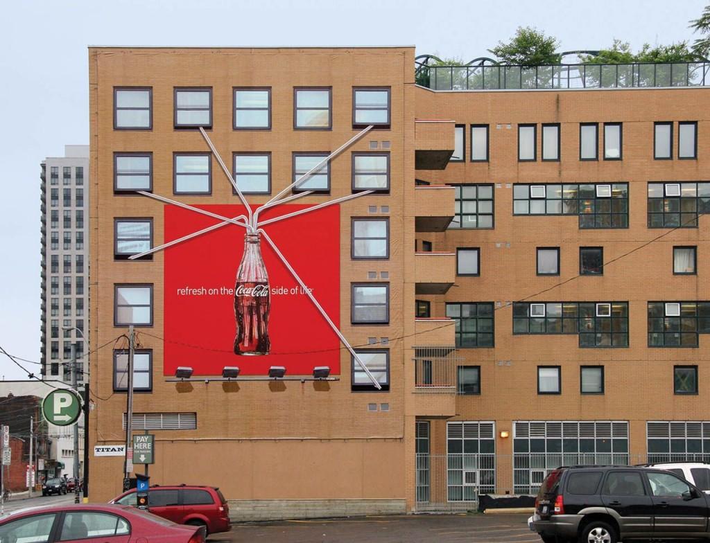 street marketing coca cola