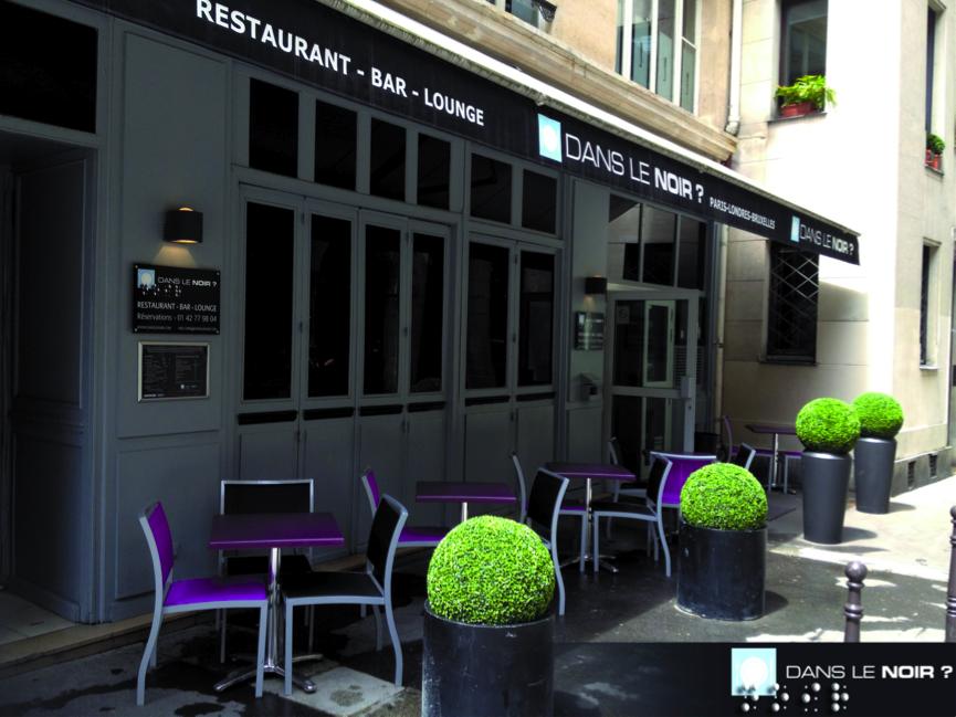 restaurant dans le noir paris