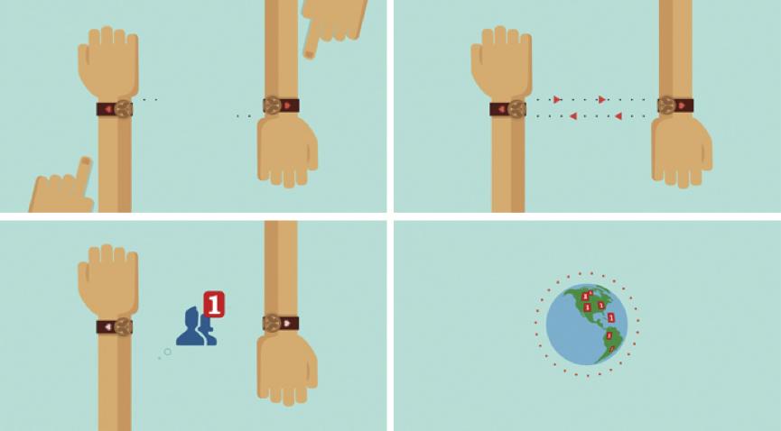 Bracelet connecté Tomorrowland