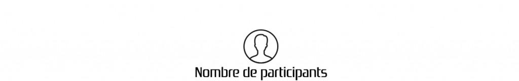 nombre de participants pour l'animation