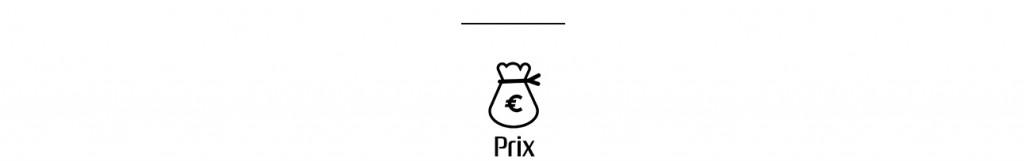 prix de l'animation
