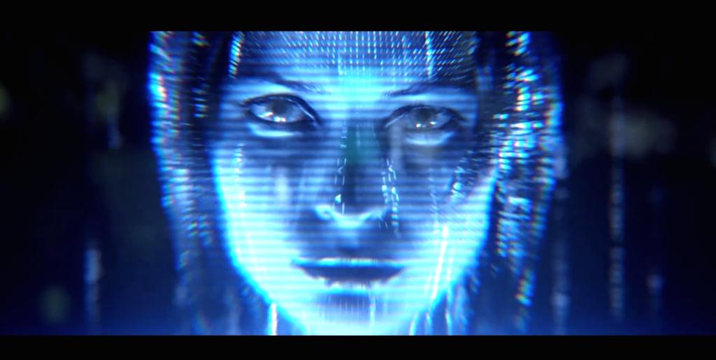 Hologramme hotesse