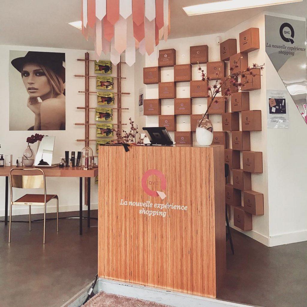 ! Ouverture officielle du concept store qvcinparis au marais duhellip