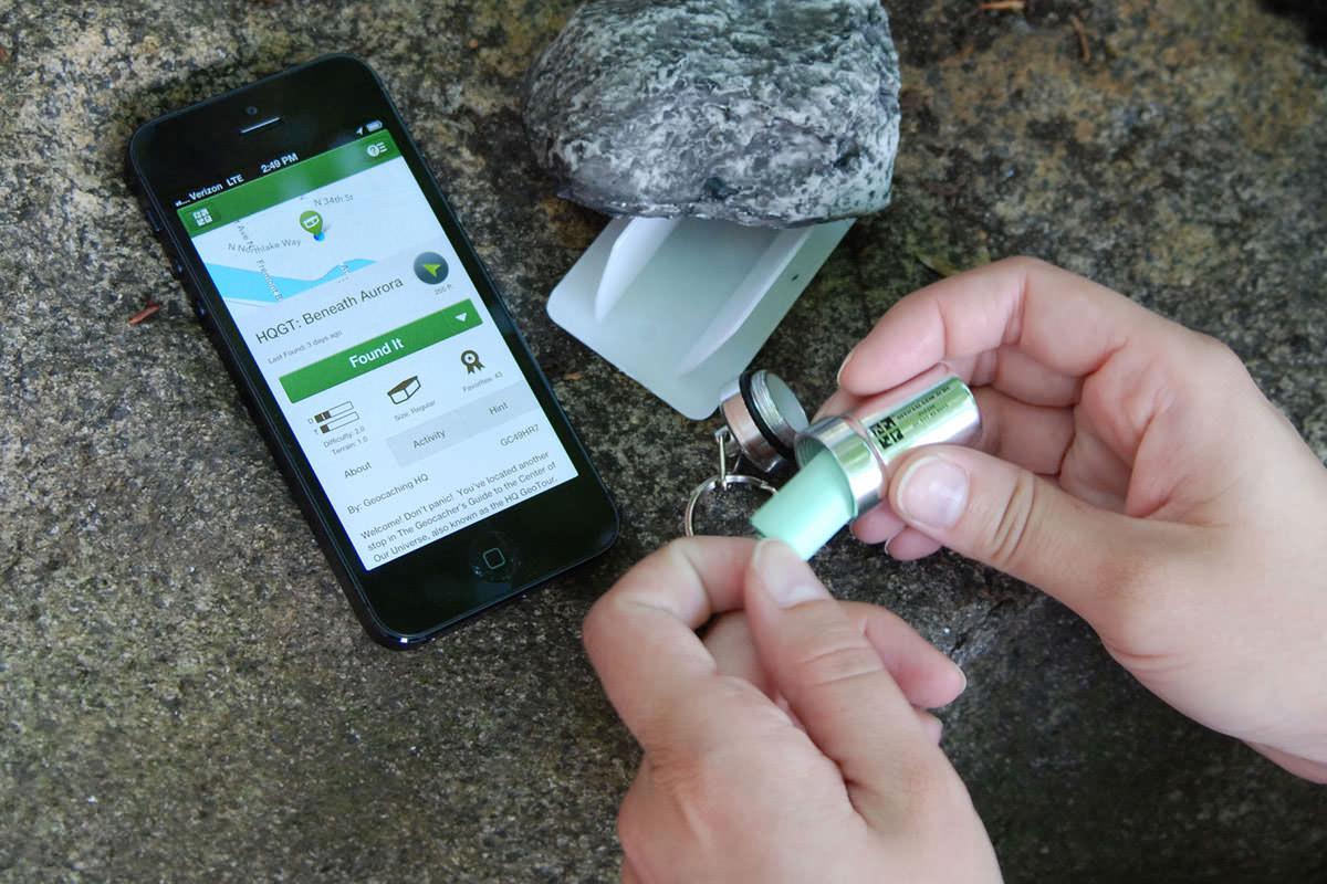 app geocaching