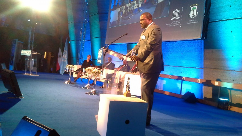 Le Sénégalais Amadou Alpha Sall recoit le prix international UNESCO-GUINEE EQUATORIALE