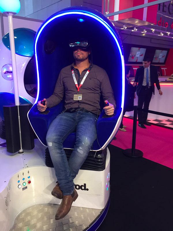 réalité virtuelle 9D salon havent