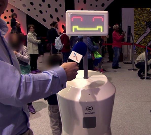Robot d'accueil