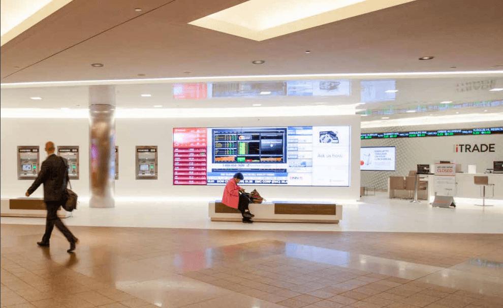 mur interactif