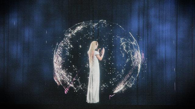 holografic show