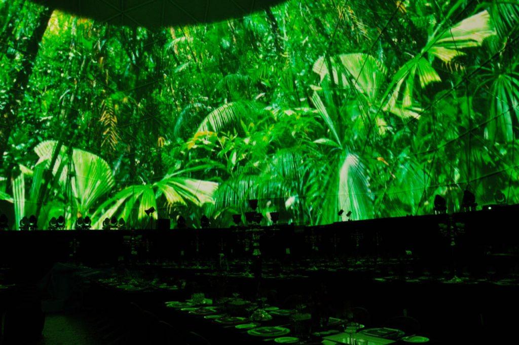 le végétal dans l'événementiel