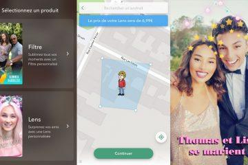 Créer un filtre Snapchat personnalisé