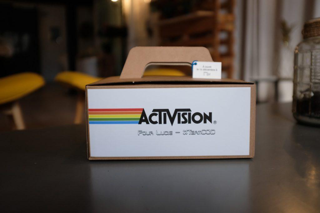 La box pour Activision