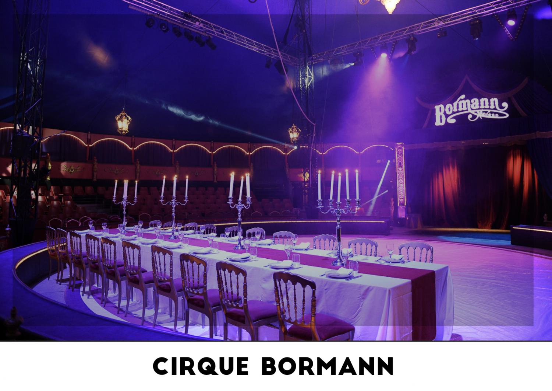 Lieu événementiel - Cirque Bormann
