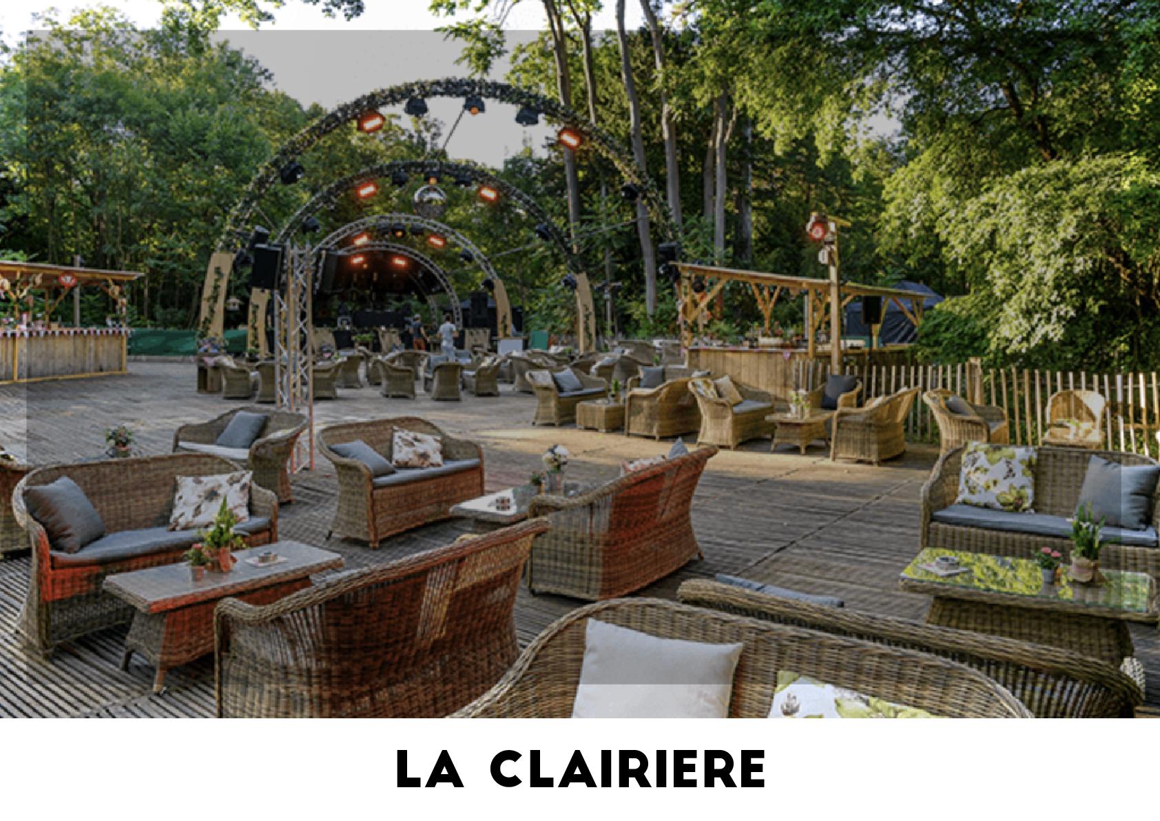 Lieu événementiel - La Clairière