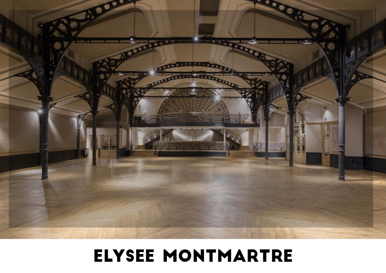 Lieu événementiel - Elysée Montmartre