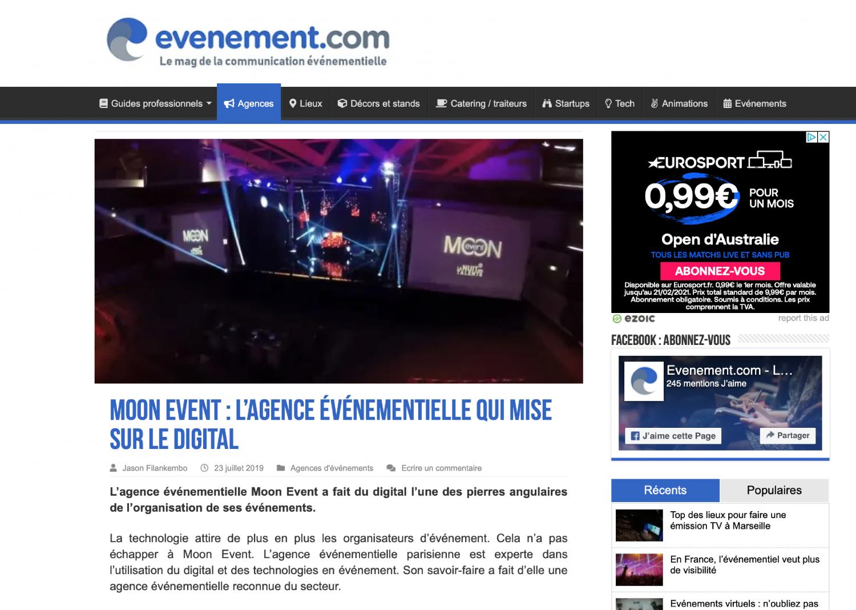 Relation Presse - evenement.com