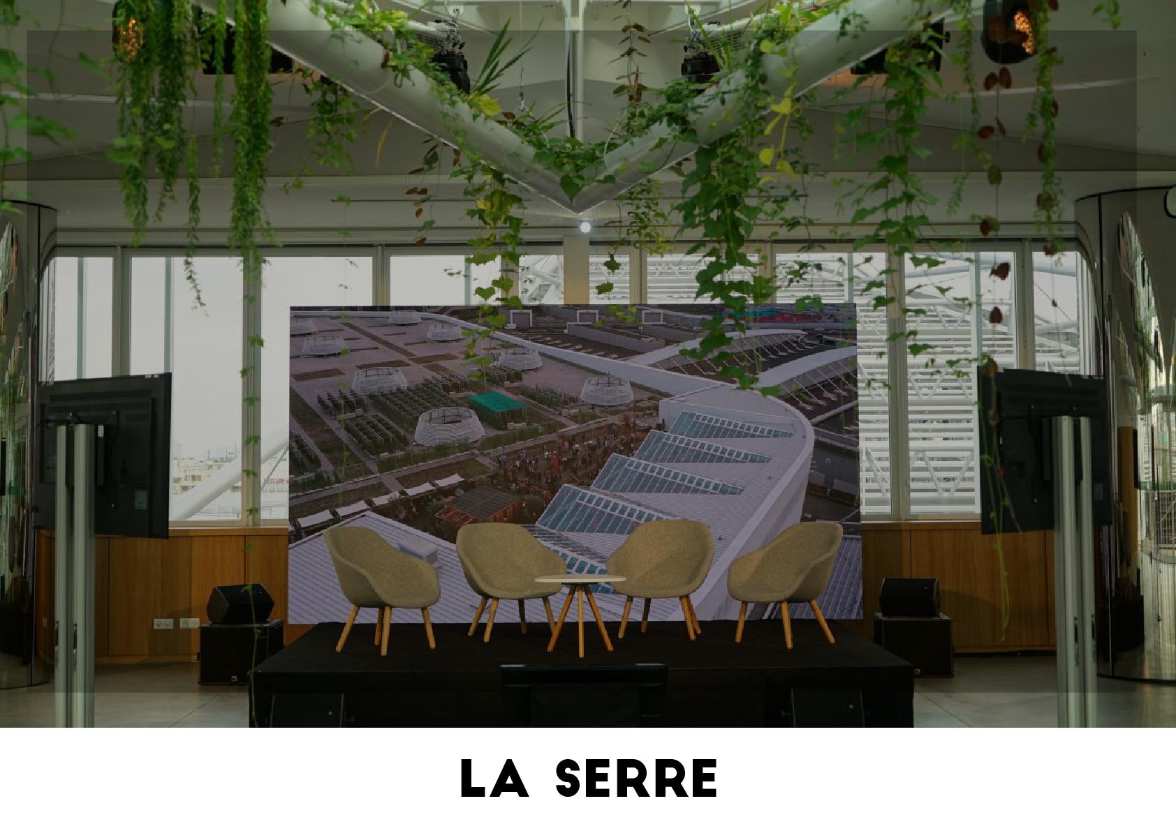 Plateau TV - La Serre
