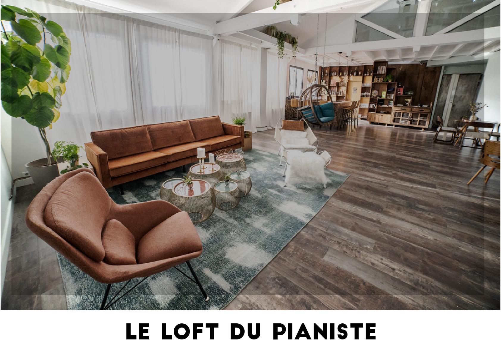 Plateau TV - Loft du pianiste