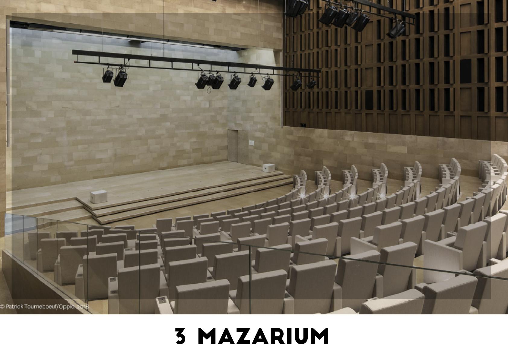 Lieu événementiel - 3 Mazarium