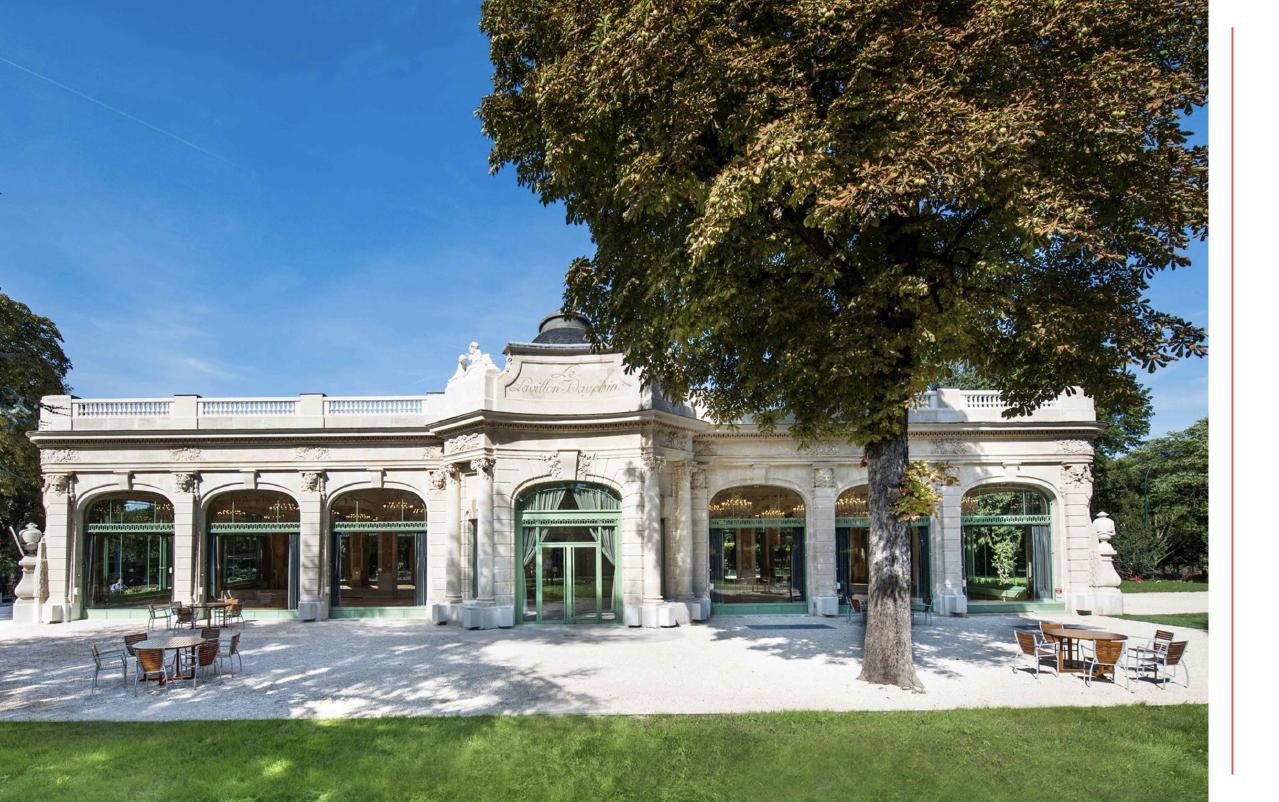 Lieu événementiel - Pavillon Dauphine