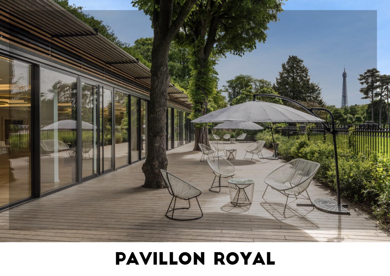 Lieu événementiel - Pavillon Royal
