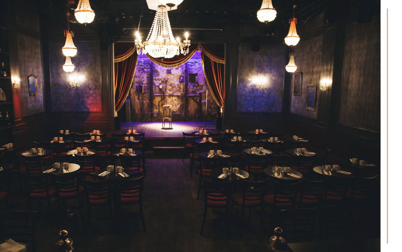 Lieu événementiel - Comedy Club