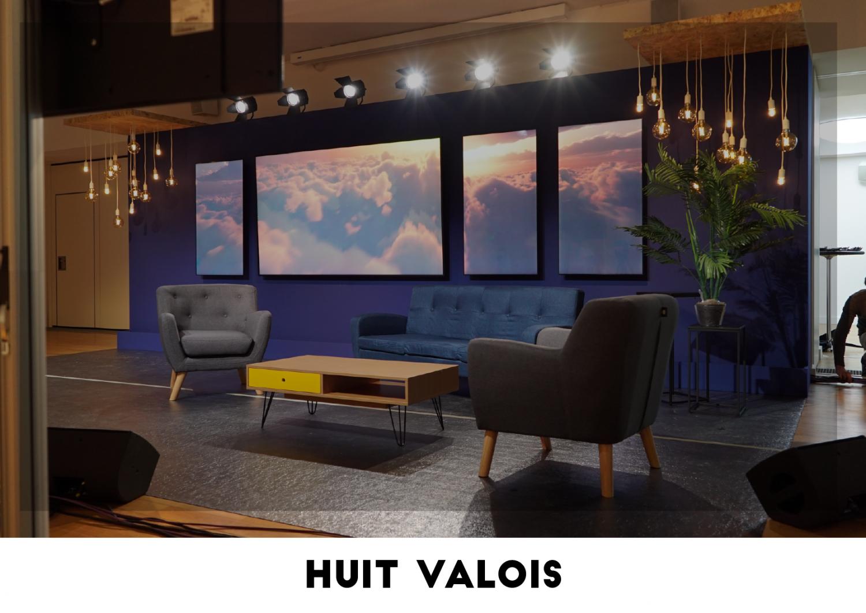 Plateau TV - Huit Valois