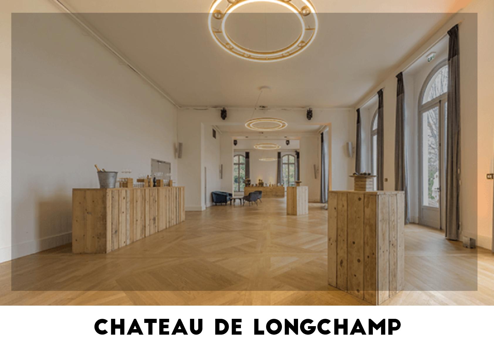 Lieu événementiel - Château de Longchamp