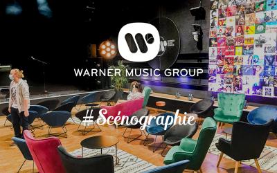 Scénographie - Warner Music
